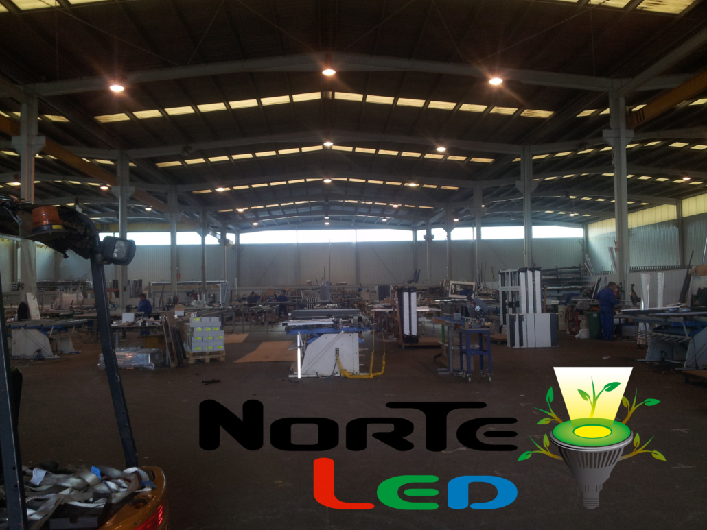 iluminacion industrial led